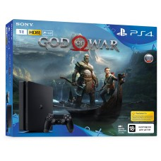 PlayStation 4 SLIM Bundle (1 Tb, God of War), , Консоли